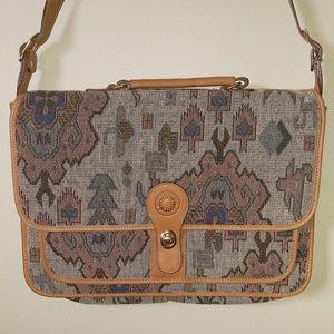 Beautiful Woven tribal Textile Laptop Bag